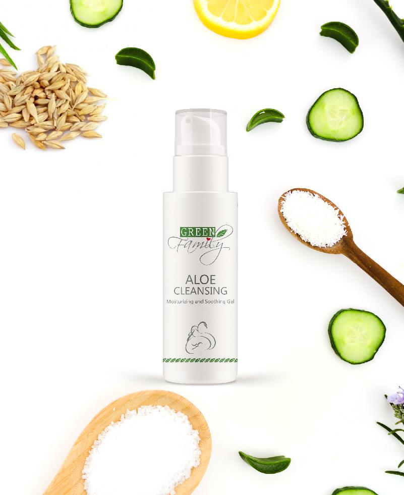 Aloe cleansign gel detergente viso